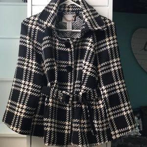 Super cute pea coat/ poncho